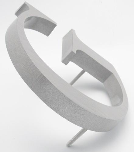cast aluminum sign letters